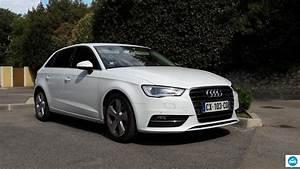 Audi A3 Prix Occasion : achat audi a3 sportback tdi ambition blanc glacier 2013 d 39 occasion pas cher 21 000 ~ Gottalentnigeria.com Avis de Voitures