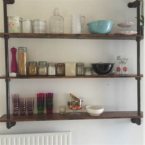 bespoke shelving unit scaffold furniture industrial