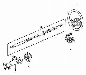 Chevrolet Cavalier Steering Shaft  Cavalier  Sunfire  W  O