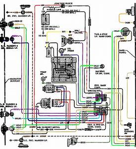 32 1970 Chevelle Dash Wiring Diagram