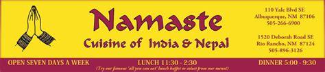 indian cuisine menu fbplate4 namaste restaurant