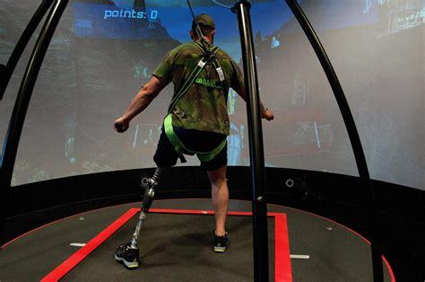 virtual reality movement training  amputees applysci