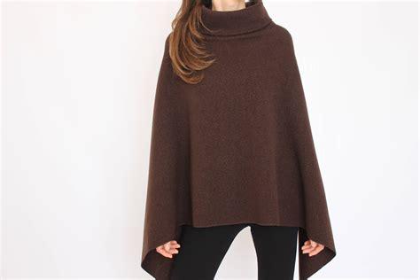 100% Merino Wool Poncho / Womens Cape / Poncho Women