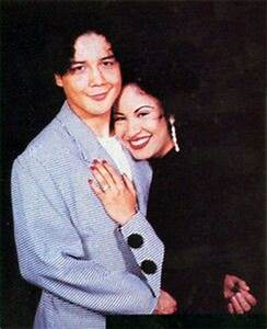 Selena &her husband Chris Perez | Selena fan always ...
