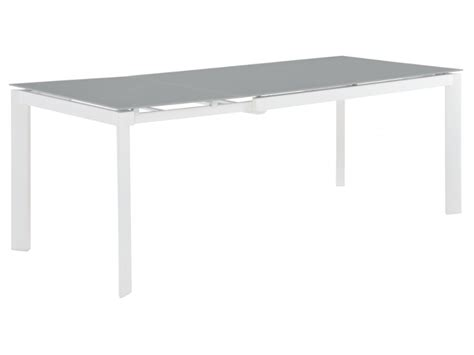 ensemble table et chaise jardin collection de jardin palaos table extensible 6 chaises