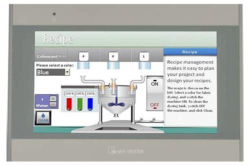 New 7'' original weinview weintek hmi 7 inch touch operator panel.