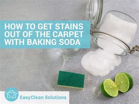 You add one tablespoon of baking soda and one tablespoon of water. How to Get Stains Out of the Carpet with Baking Soda