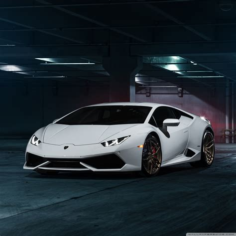 White Lamborghini 4k 4k Hd Desktop Wallpaper For • Wide