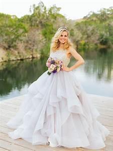 20 dreamy pastel wedding dresses southbound bride With pastel wedding dresses