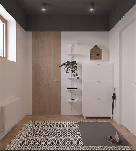 arredamento entrata appartamento originale appartamento in stile scandinavo moderno ed