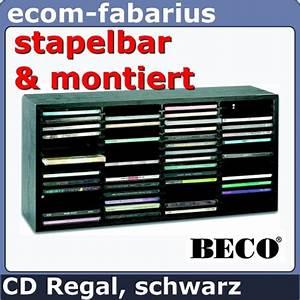Cd Box Aufbewahrung : beco cd regal rack schrank 60 cds aufbewahrung holzregal schwarz medien cd box ebay ~ Whattoseeinmadrid.com Haus und Dekorationen