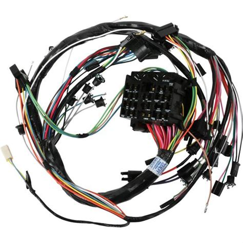 1952 Chevy Truck Wiring Harnes by M H Electric 39045 Dash Wiring Harness 1968 Gm A W