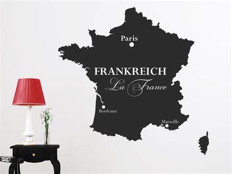 Wandtattoo Kinderzimmer Frankreich wandtattoo frankreich silhouette la wandtattoo de