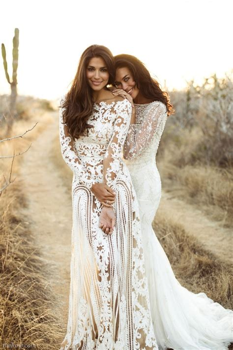 5 Beautiful Lace Wedding Dresses