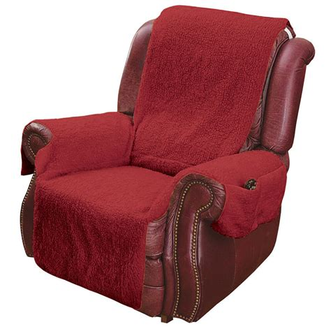 Recliner Chair by Recliner Chair Cover Protector With Pockets For Remotes