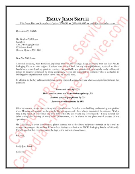 Canada Resume Cover Letter Sles by Pharmaceutical Sales Manager Cover Letter Sle