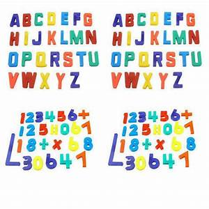 Details about fridge magnets alphabet numbers strong for Magnetic letters for babies