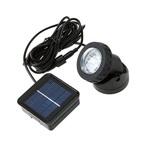 rockbirds sl006 weatherproof solar energy powered led