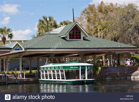 Silver Springs State Park Florida Glass Bottom Boat by Amusement Park Ride Boat Stock Photos Amusement Park