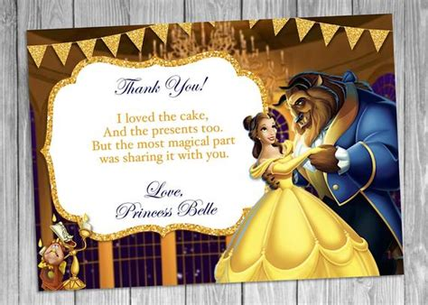 beauty   beast   card