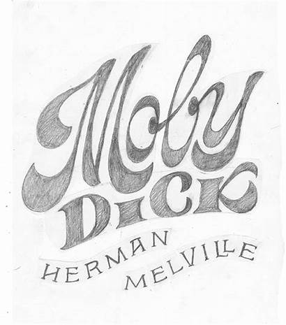 Moby Dick Lettering Behance