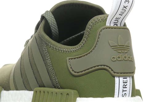 adidas nmd  olive europe exclusive sneakernewscom