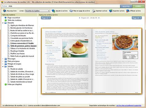 tablette pour recette de cuisine le collectionneur de recettes logiciel de recettes et
