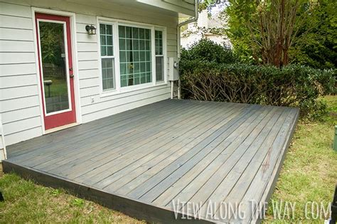 deck stain coverage 25 best ideas about concrete slab on diy