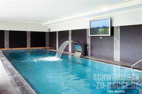 Innenpool Im Haus by Fertighaus Mit Pool Schwimmbad Zu Hause De