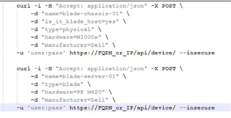 how to represent blade servers in device42 device42