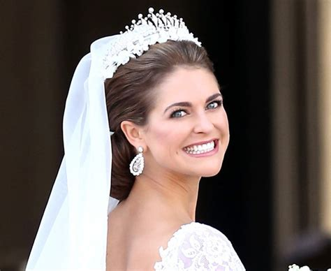 The hair and make up looks from the Swedish royal wedding