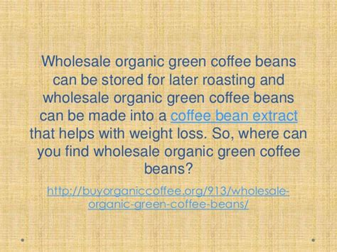 Buy Green Ethiopian Coffee Beans Wholesale