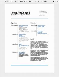 How to make a professional resume in google docs for How to create a resume on google docs