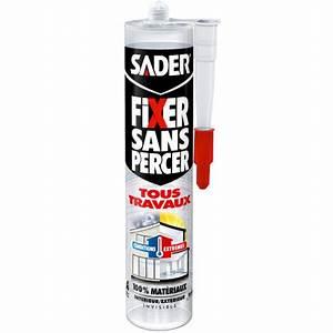 Fixer Étagère Sans Percer : sader fixer sans percer tous travaux invisible ~ Melissatoandfro.com Idées de Décoration