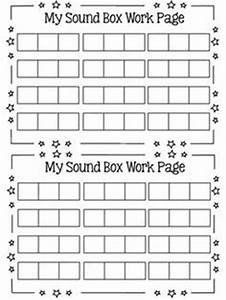 1000 images about phonemic awareness on pinterest boxes With elkonin boxes template