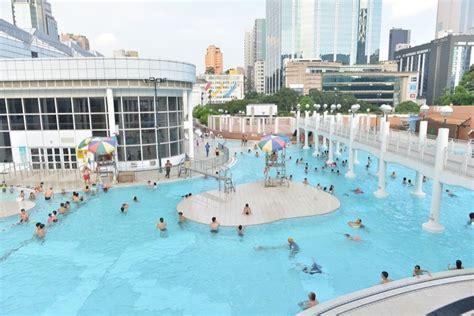 public swimming pools  hong kong   family day