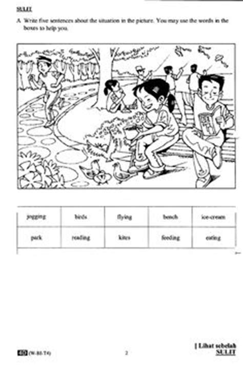Essay Trip To Sarawak by Upsr Paper 2 Section A Tips