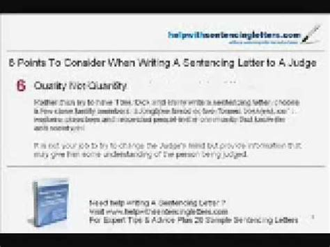 writing a letter to a judge help on writing sentencing letter to judge 31693