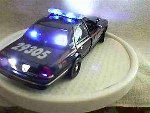 Scale Model Police Lights Atlanta Police Diecast Model Car With Working Lights And