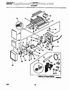 Parts For Frigidaire Frs26zrfw1  Ice Maker Parts