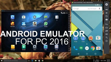 Best Emulator Top 5 Best Android Emulator For Pc