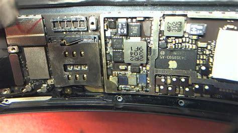 ipad mini  light fuse filter   light chip location  logic board youtube
