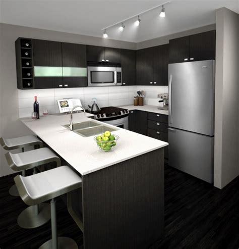 forme cuisine davaus cuisine moderne forme u avec des idées