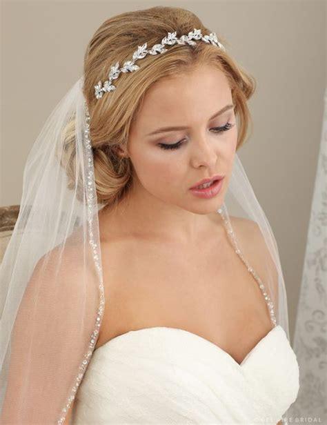 bridal accessories rhinestone headband  marquise
