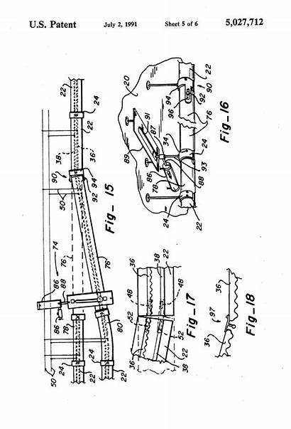Monorail Patents Patent Drawing Train Suspended