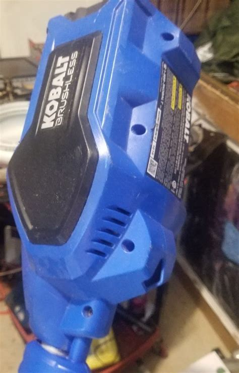 The kobalt battery powered weed eater max is ergonomically designed. Kobalt Weed Eater...has battery needs charger...$50 o.b.o. for Sale in Odessa, TX - OfferUp