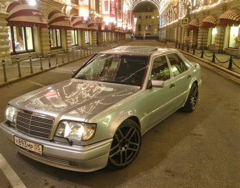 Every day new pictures, screensavers, and only beautiful wallpapers for free. Mercedes-Benz E500 W124 from Moscow | BENZTUNING