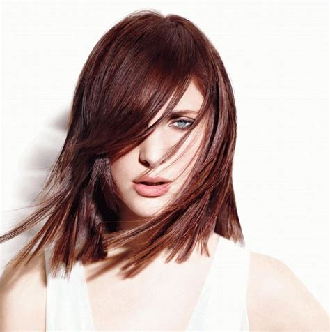 colored haircuts 25 best ideas about mahogany brown on 4705