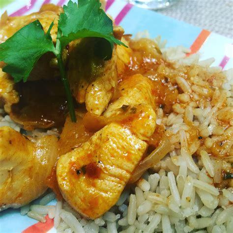 Venez découvrir cette délicieuse recette de poulet au riz tikka masala au cookéo au cookeo de moulinex. Poulet Tikka Masala Express à la sauce indienne Patak's et au Cookeo - Les petits plats de Pat91620