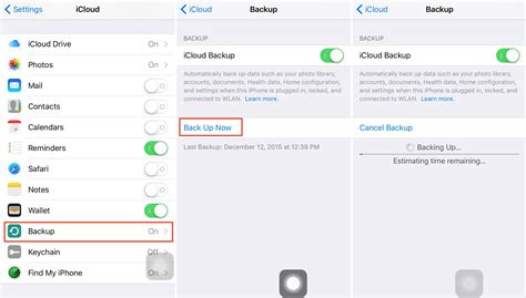 how to backup phone to icloud how to backup text messages imessages on iphone 5 5s 6 6s se